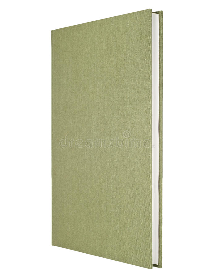 Grijs-groen boek stock foto