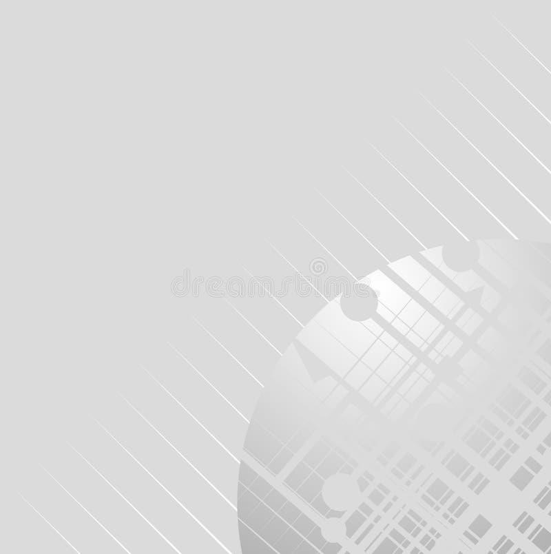Grijs ontwerp stock illustratie