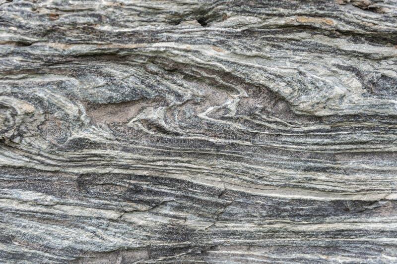 Grijsachtig graniet in de bouw van muur stock afbeelding