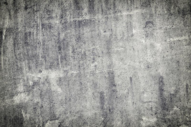 Grijze abstracte achtergrond met krassen en onregelmatigheden Oud versleten leiblad stock afbeelding