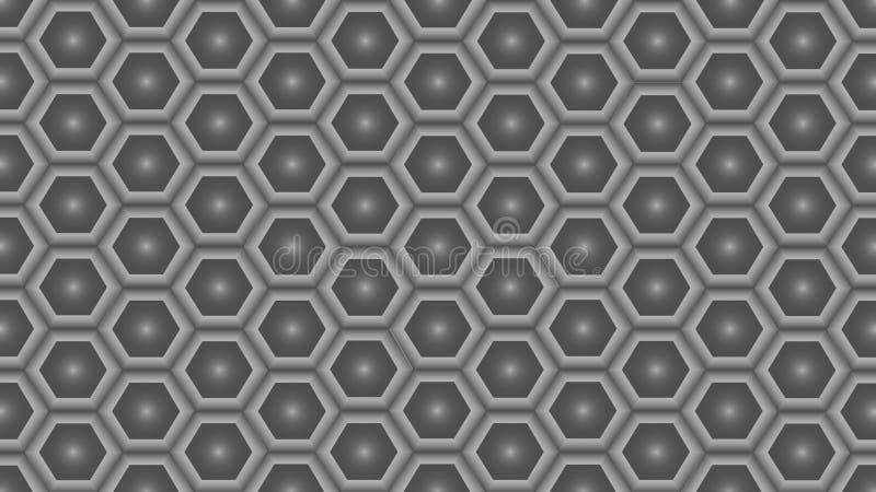 Grijze abstracte textuur De vector achtergrond 3d document kunststijl kan in dekkingsontwerp worden gebruikt royalty-vrije illustratie