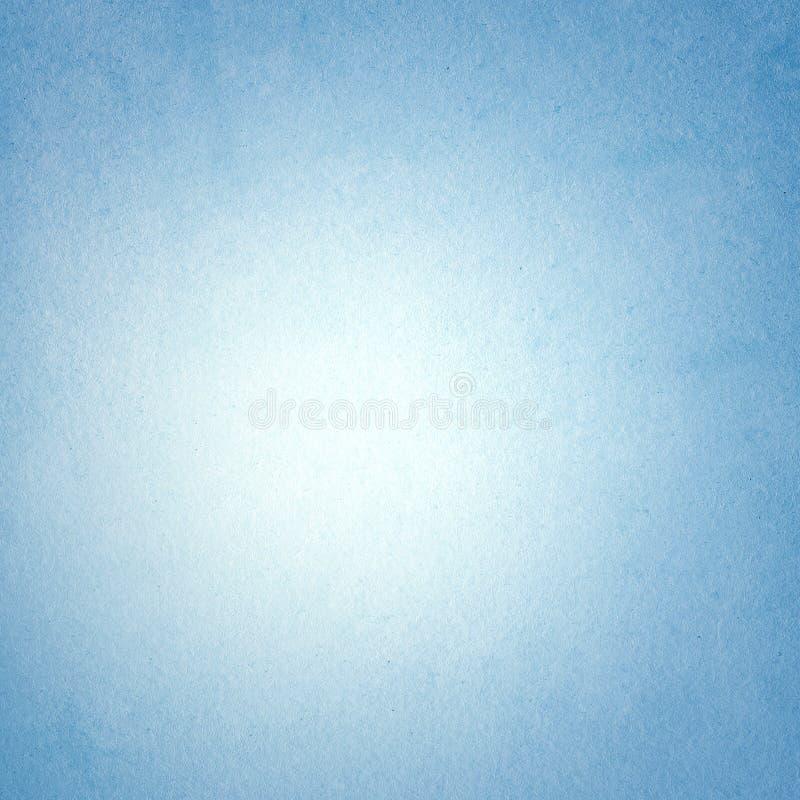 Grijze blauwe achtergrond, document ruwe textuur, document, licht centrum, spatie royalty-vrije illustratie