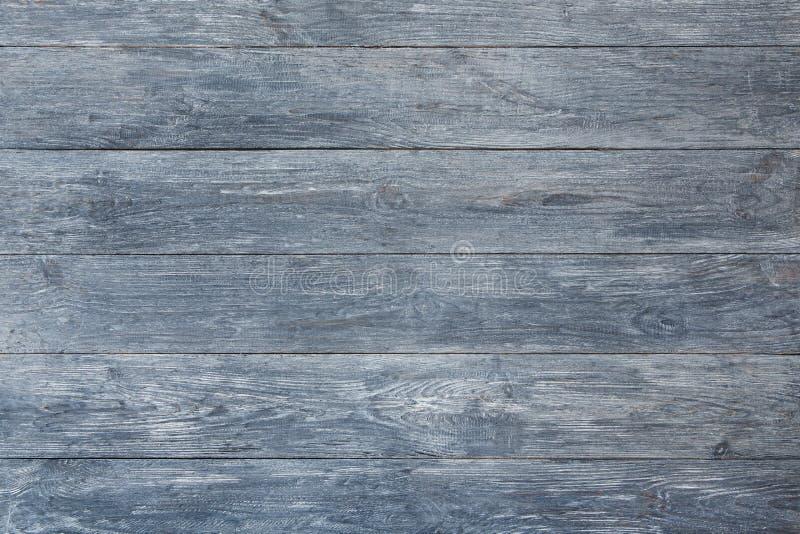 Grijze blauwe houten textuur en achtergrond stock foto's