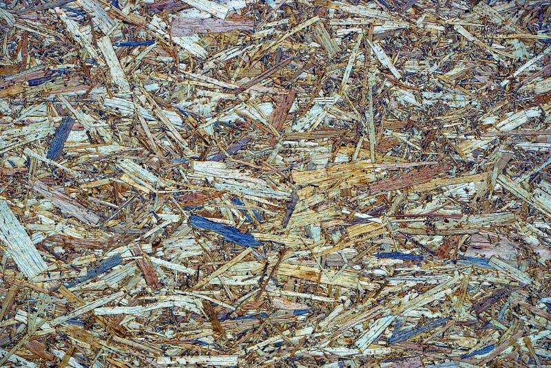 Grijze bruine houten textuur van een stuk van triplex royalty-vrije stock afbeelding