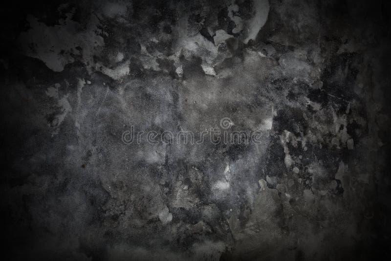 Grijze concrete grungetextuur stock afbeelding