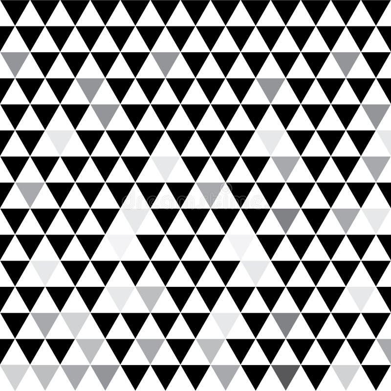 Grijze driehoeken Creatieve illustratie in halftone stijl met gradiënt Een volledig nieuwe stijl voor uw bedrijfsontwerp Vector vector illustratie