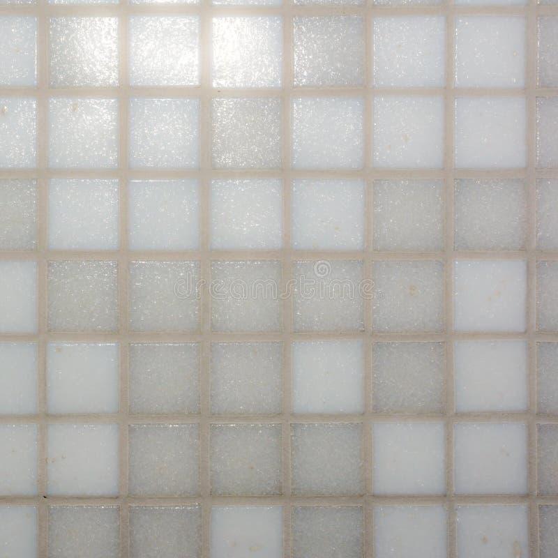 Grijze en witte tegels in badkamers royalty-vrije stock afbeeldingen