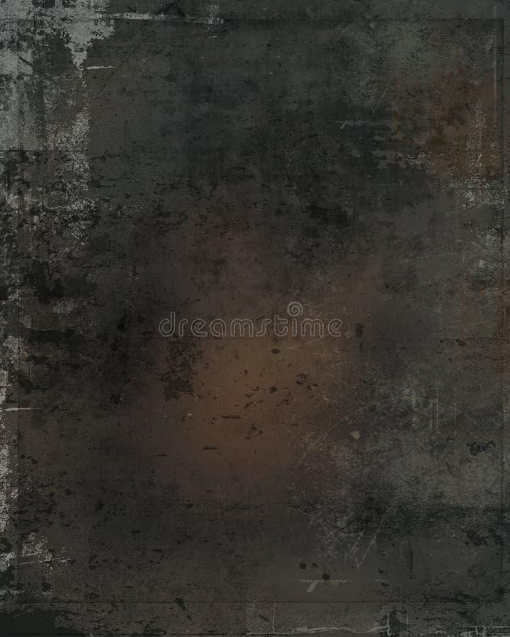 Grijze gekraste vuile oppervlakte stock foto's