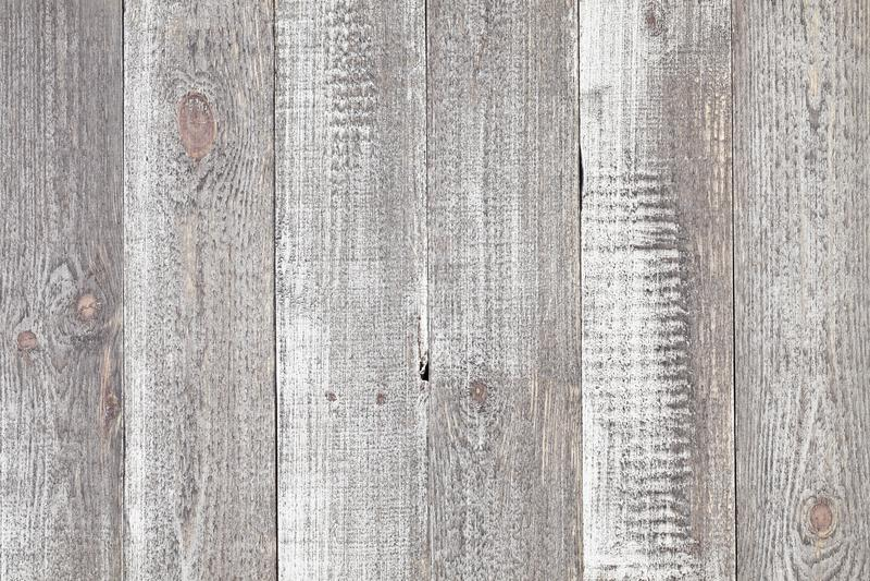 Grijze houten lijstachtergrond Sluit omhoog van rustieke grijze houten lijst royalty-vrije stock fotografie