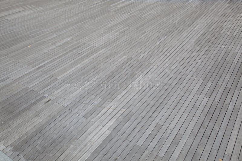 Grijze houten vloer royalty-vrije stock afbeeldingen