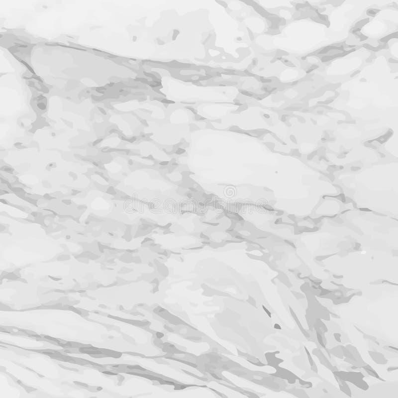 Grijze marmeren textuur Elegante Luxeachtergrond Witte steenachtergrond Abstracte textuur voor uw ontwerp, prentbriefkaar vector illustratie