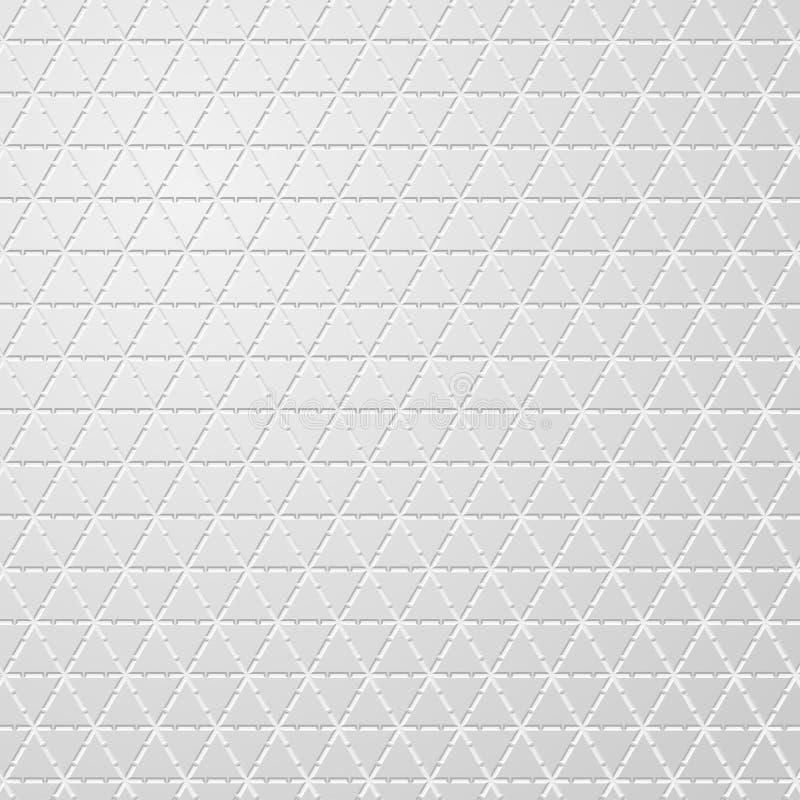 Grijze metaal naadloze textuur stock illustratie