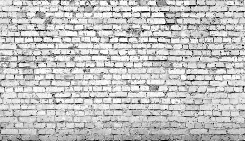 Grijze naadloze (slechts horizontale) bakstenen stock foto
