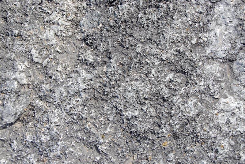 Grijze rotstextuur stock fotografie