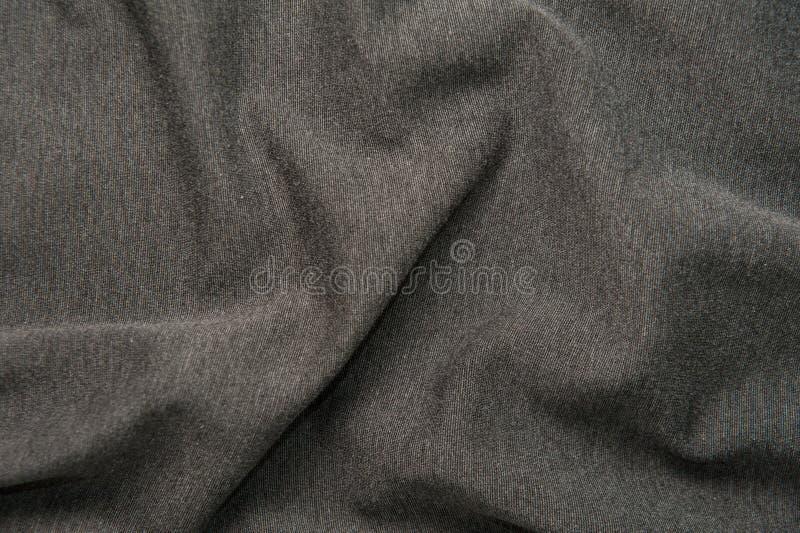 Grijze stoffentextuur stock foto