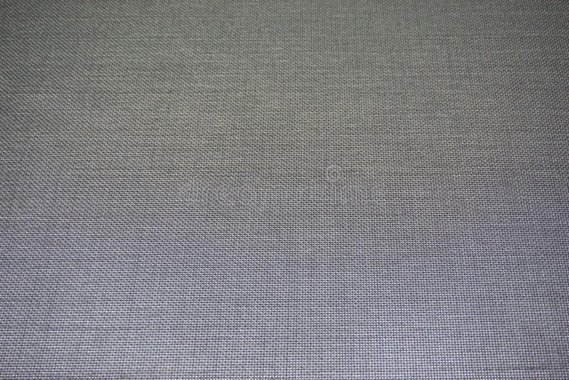 Grijze stoffentextuur stock afbeeldingen