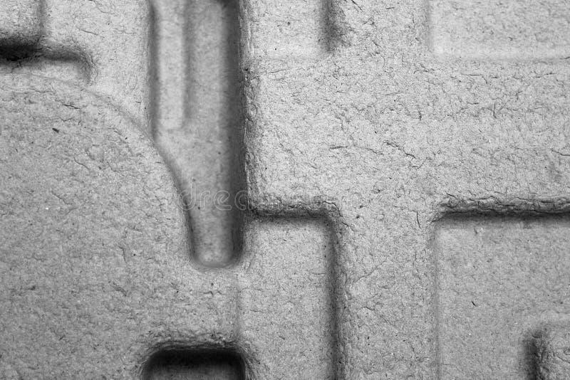 Grijze textuur met schaduw in verschillende richtingen stock afbeeldingen