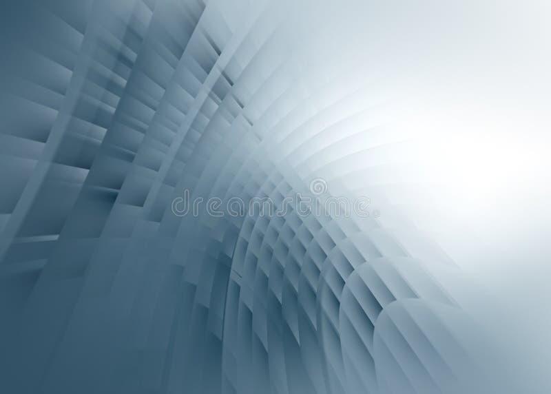 Grijze zachte gloeiende achtergrond vector illustratie