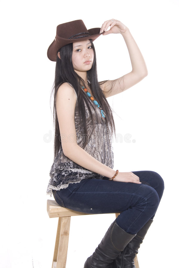 Gril royalty free stock image