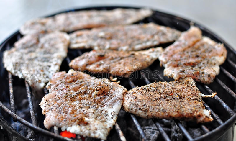 Gril de barbecue photos stock