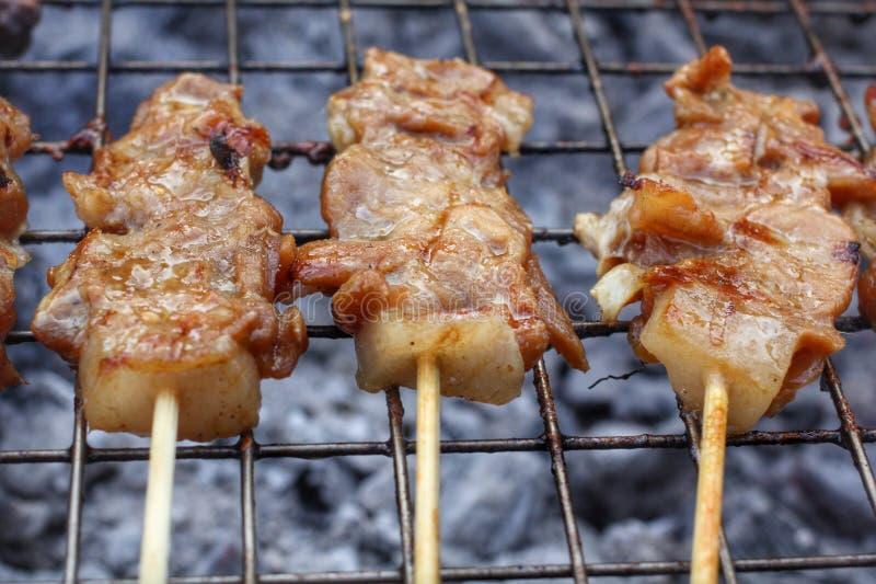Gril de BBQ de viande photo libre de droits