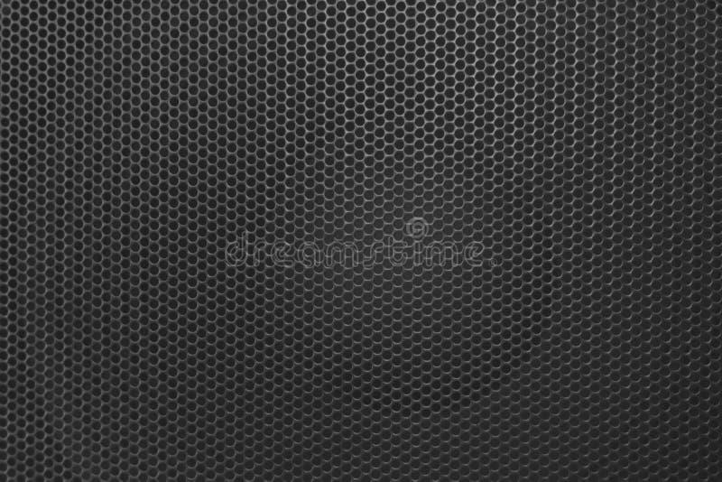 Gril de Grillethe d'orateur du haut-parleur photographie stock libre de droits