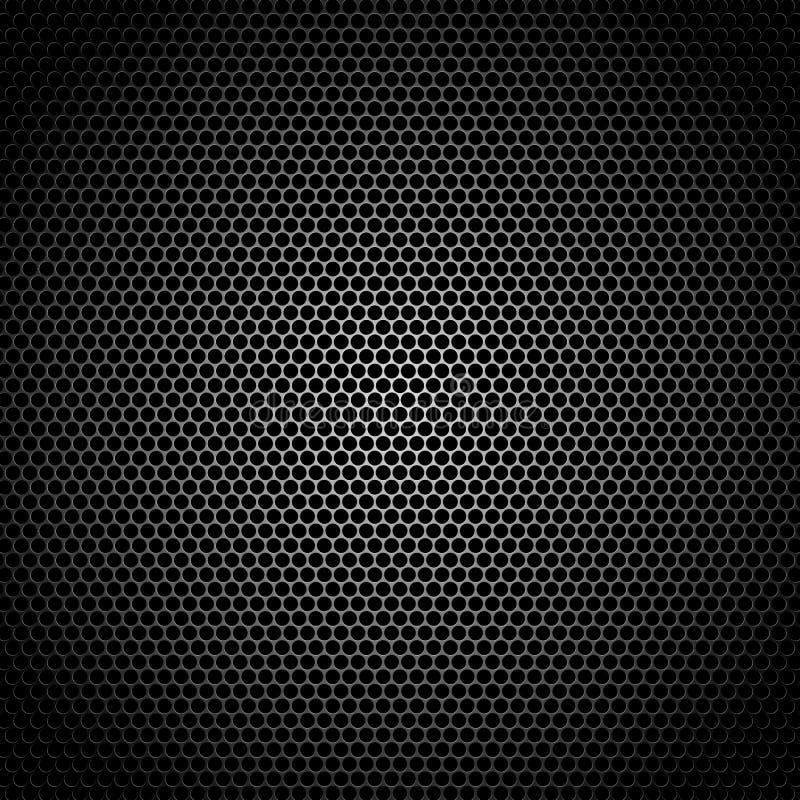 Gril de haut-parleur illustration de vecteur