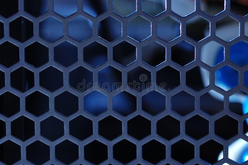 Gril en métal. image libre de droits