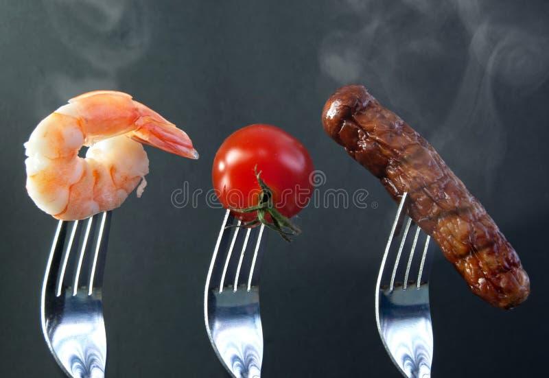 Grillów składniki obraz stock