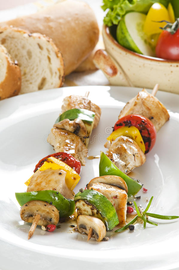 Download Grill stock image. Image of food, nutrition, skewer, grilled - 10192949