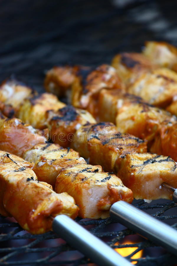Download Grill stock image. Image of holiday, cuisine, bratwurst - 14858639