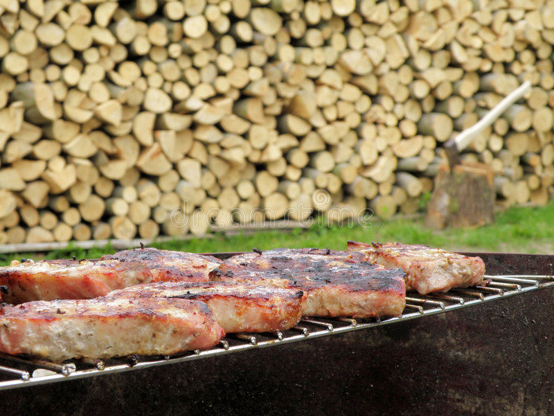 Download Grill Stock Image - Image: 5609981