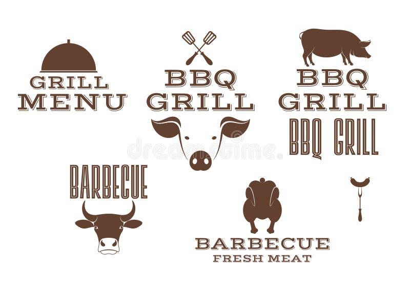 grill royalty ilustracja