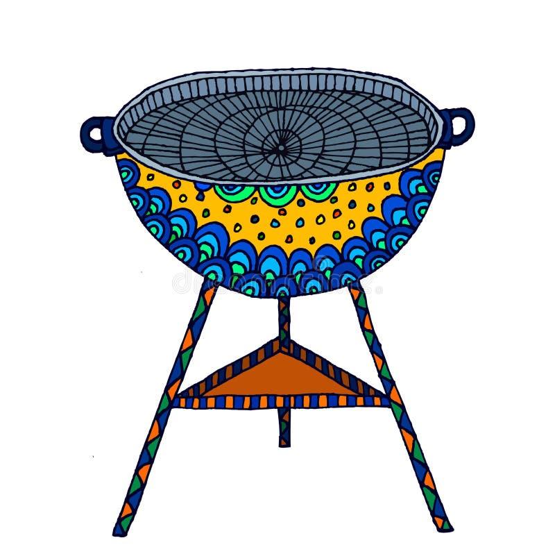 grill lizenzfreie abbildung