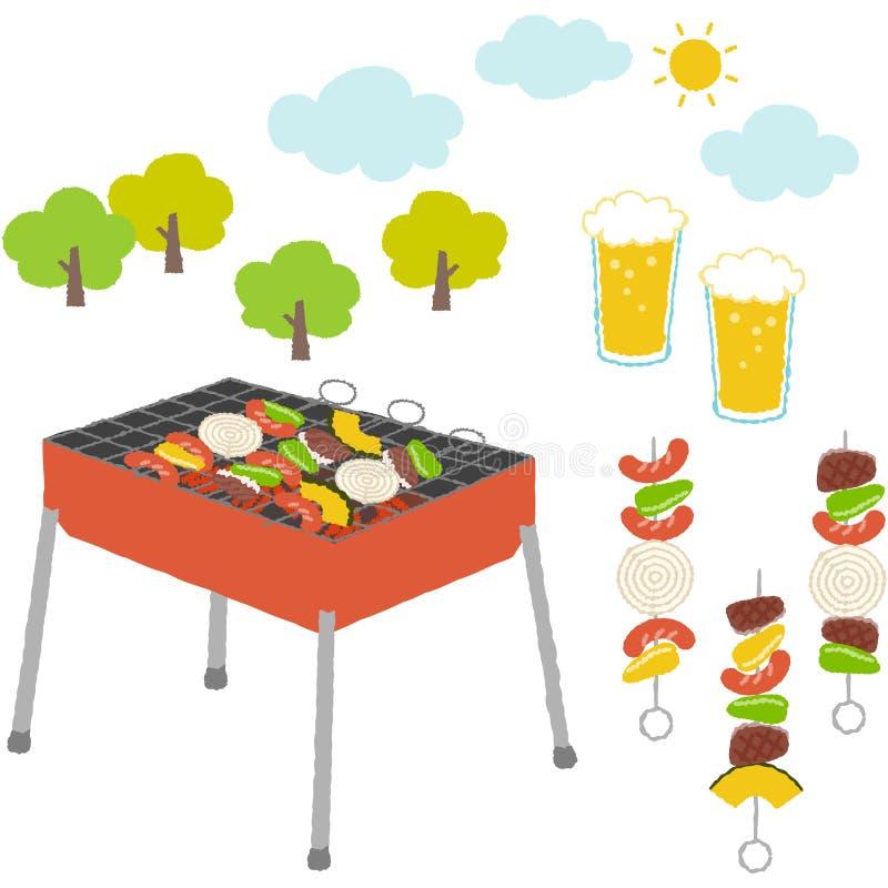 grill ilustracja wektor