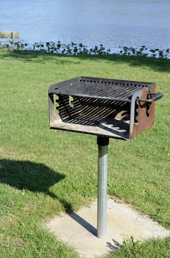Free Grill At The Park Stock Photo - 41382060