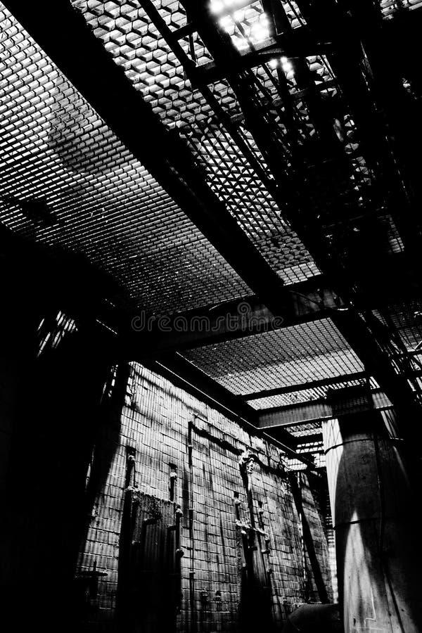 Grill in der Fabrik lizenzfreie stockfotografie
