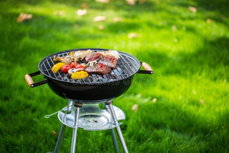 Grill. Ing bbq garden summer backyard coal stock photos