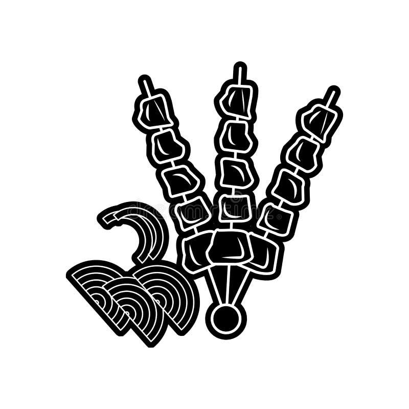Grill ikona Element Arabski dla mobilnego poj?cia i sieci apps ikony Glif, p?aska ikona dla strona internetowa projekta i rozw?j, ilustracji