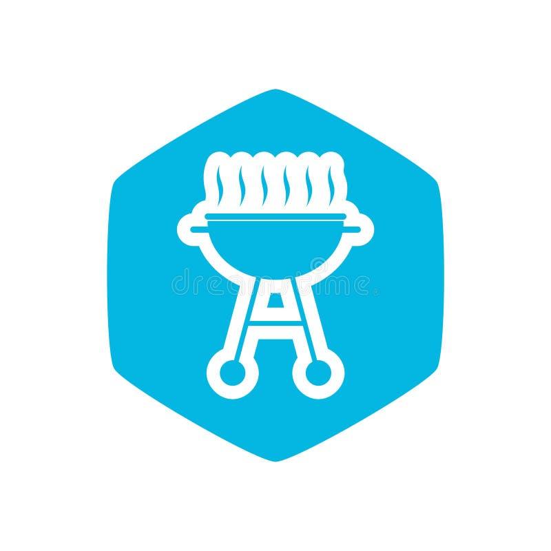 Grill ikona, Prosta ilustracja grill ikona dla sieci ilustracji