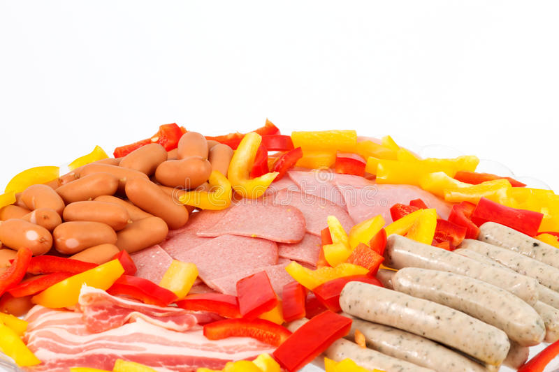 Grill Ingredients Royalty Free Stock Photo