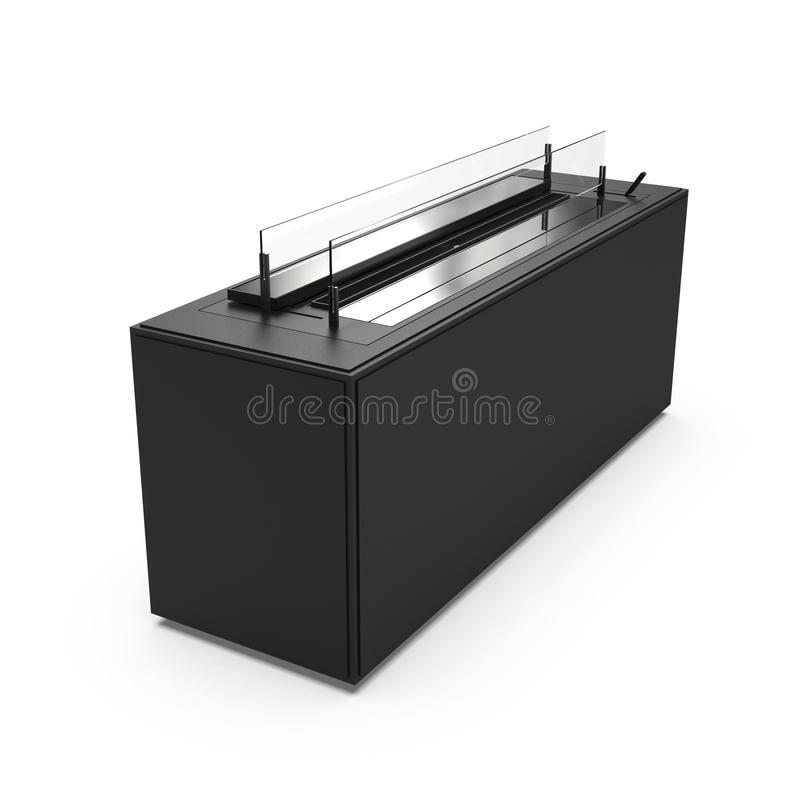 Grill isolated on white vector illustration