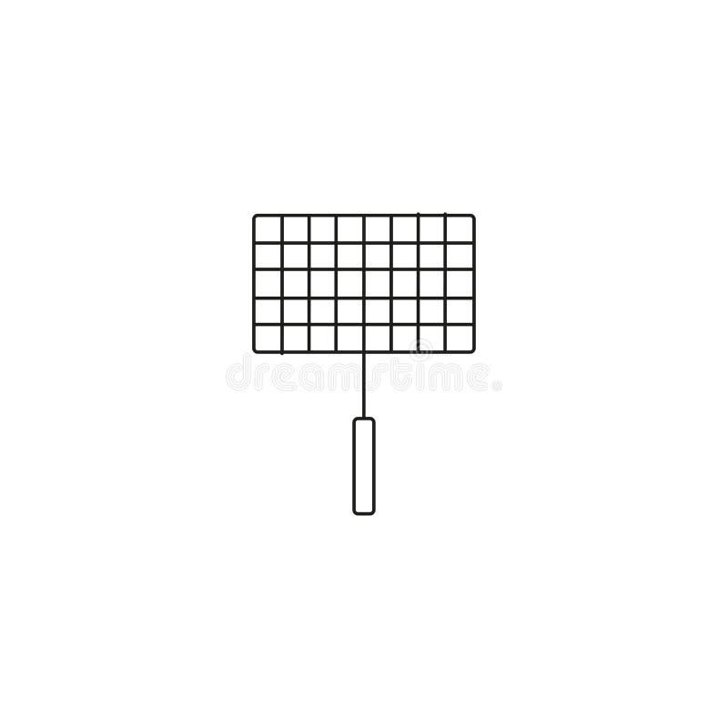 Grill kreskowa ikona ilustracji