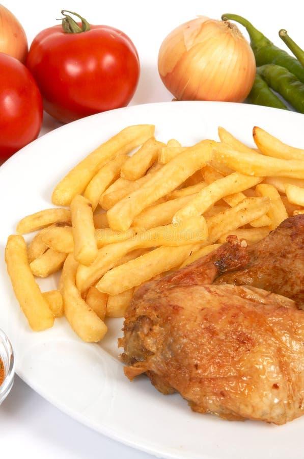 grill kurczaka zdjęcia stock