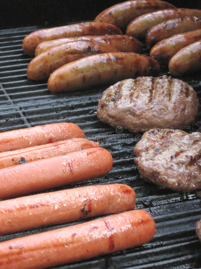 Free Grill Meats Royalty Free Stock Image - 2757176