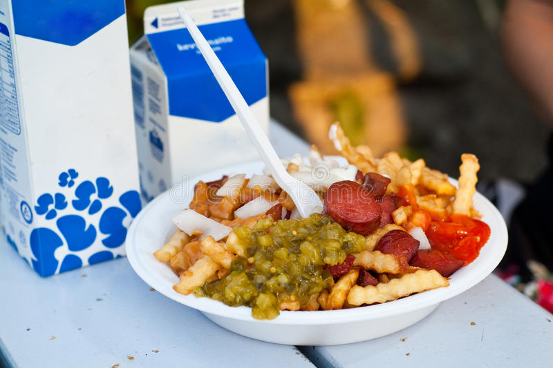 Download Grill plate stock image. Image of finnish, french, fries - 21674161