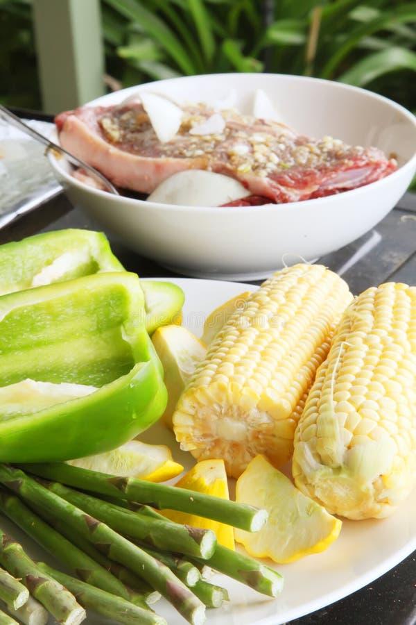 grill plenerowy zdjęcie royalty free