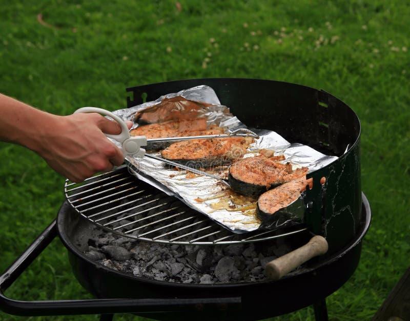 grill ryb fotografia royalty free