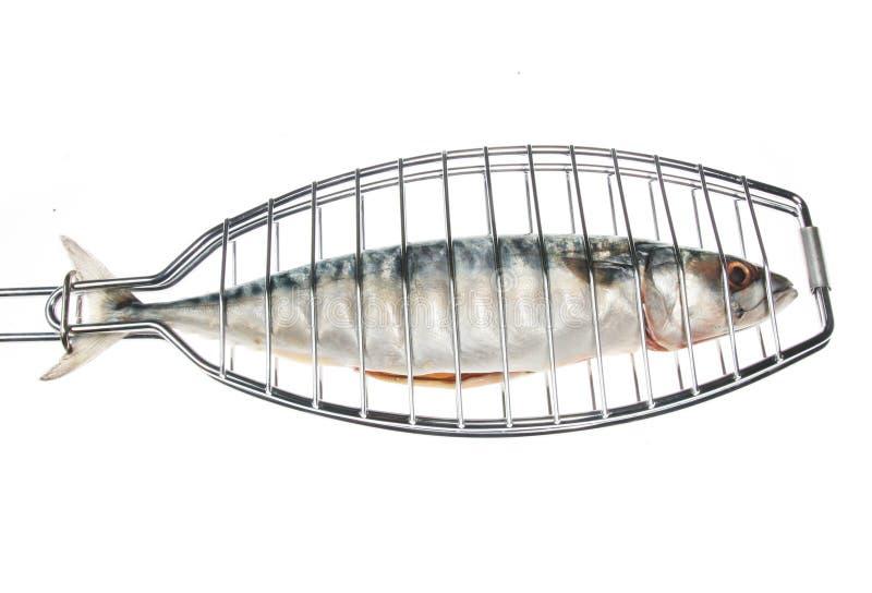 grill ryb obraz stock