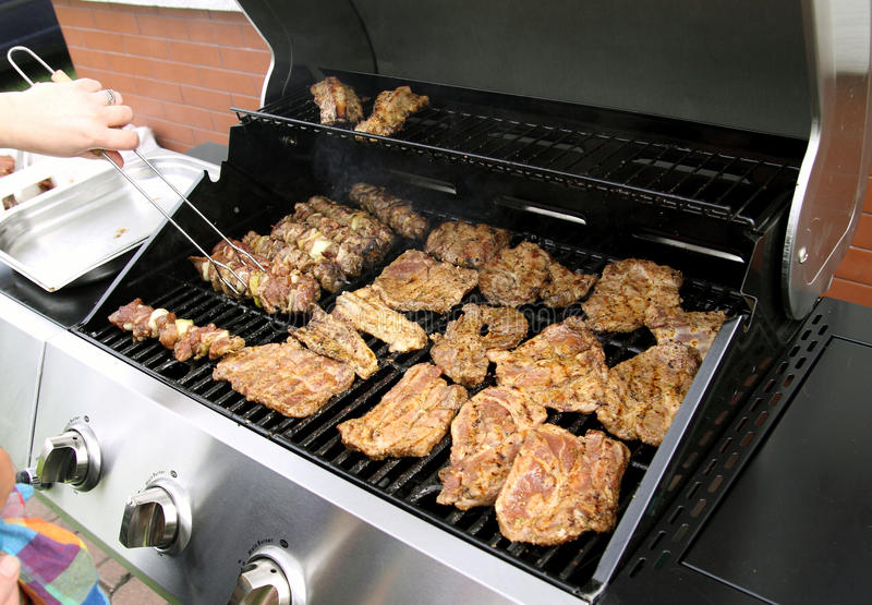 Download Grill time stock image. Image of background, marinade - 20935821